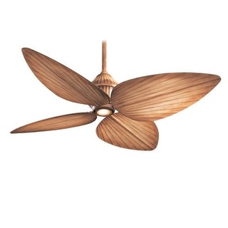 "MinkaAire Gauguin 4 blade 52"" Indoor / Outdoor Ceiling Fan - Light, Wall Control and Blades Included"