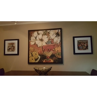 Gallery Direct Olivia Maxweller 'Flowers with Fruit' Oversized Canvas Art