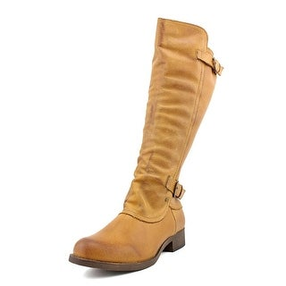 Rocket Dog Cato Women Round Toe Leather Knee High Boot