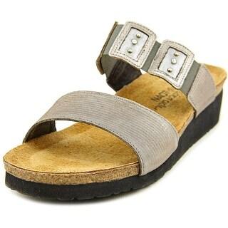 Naot Emma Women Open Toe Canvas Slides Sandal