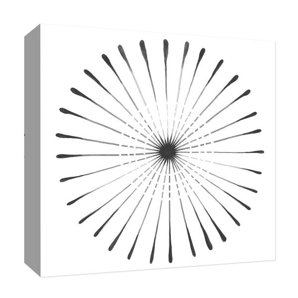 """PTM Images 9-126780 PTM Canvas Collection 12"""" x 12"""" - """"Circular Flash II"""" Giclee Patterns and Designs Art Print on Canvas"""