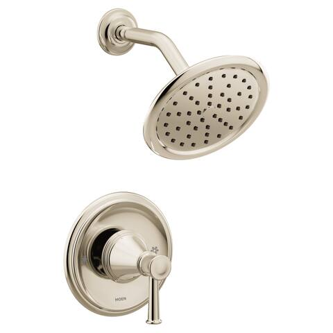 Moen T2312 Belfield Shower Trim Package with Single Function 2.5 GPM Shower Head and Posi-Temp Pressure-Balancing Valve