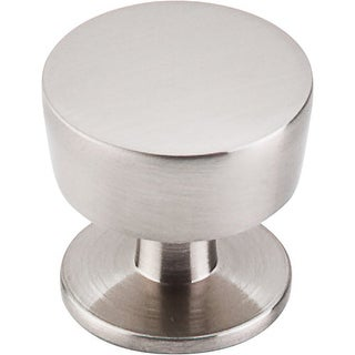 Top Knobs M1122 Nouveau III 1-3/8 Inch Diameter Mushroom Cabinet Knob - brushed satin nickel