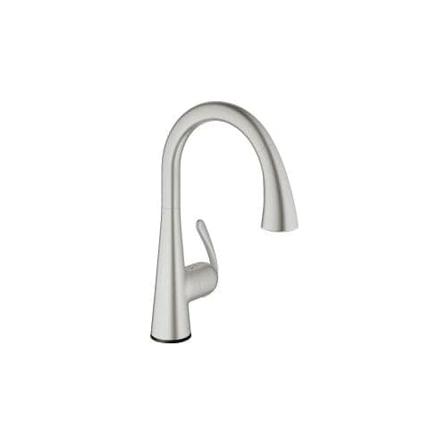Grohe 30 205 1 Ladylux3 Cafe Touch Activated Pull-Down High-Arc ...