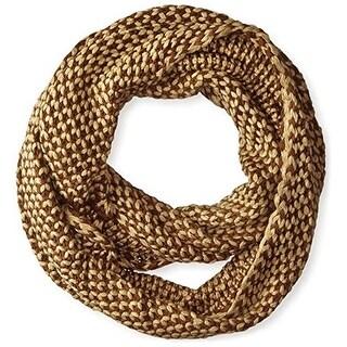 La Fiorentina Womens Infinity Scarf Knit Popcorn - o/s