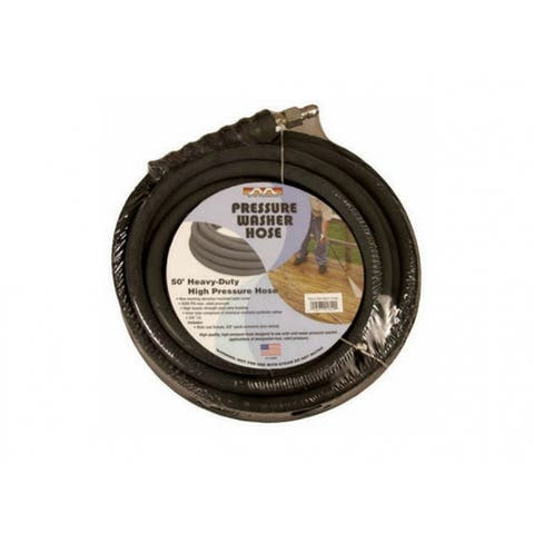 "Mi-T-MA AW-0851-0338 High Pressure Extension Hose with Quick Connects, 3/8"" x 50'"