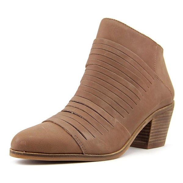 Lucky Brand Zavrina Women Round Toe Leather Ankle Boot