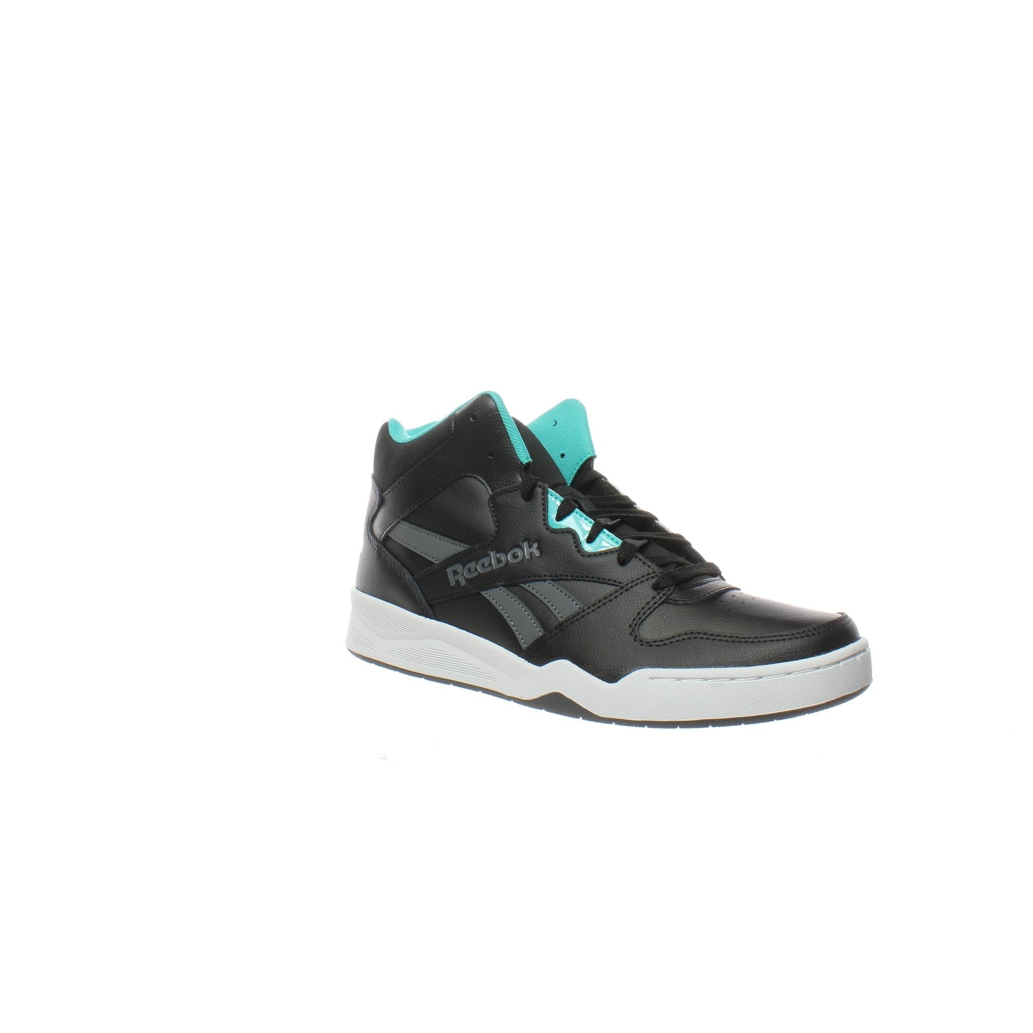 Reebok Mens Royal Bb4500 Hi2 Black Basketball Shoes Size 7.5