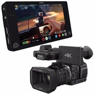 "Atomos Shogun 4K HDMI/12G-SDI Recorder and 7"" Monitor + Panasonic HCX-1000 Camcorder 6Ave Saver Bundle"