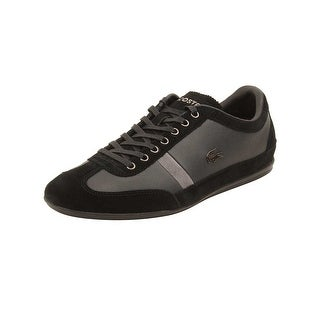 Lacoste Mens Misano 22 LCR Sneakers in Black (Option: 11.5)