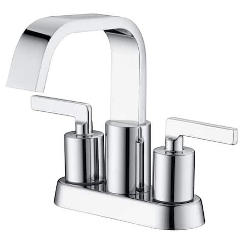 "Ultra Faucets Ardua Collection Two-Handle 4"" Centerset Lavatory Faucet"