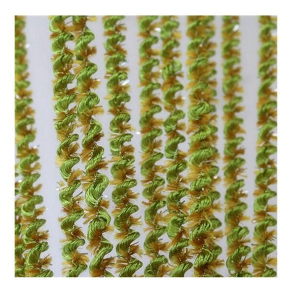 Screw Thread String Door Curtain Home Decoration 1*2m - Green