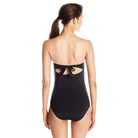 Skye Women's Clementine One Piece Swimsuit, So Soft Black,, Black, Size X-Large