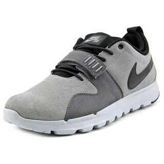 Nike Trainerendor L Men Round Toe Suede Gray Trail Running