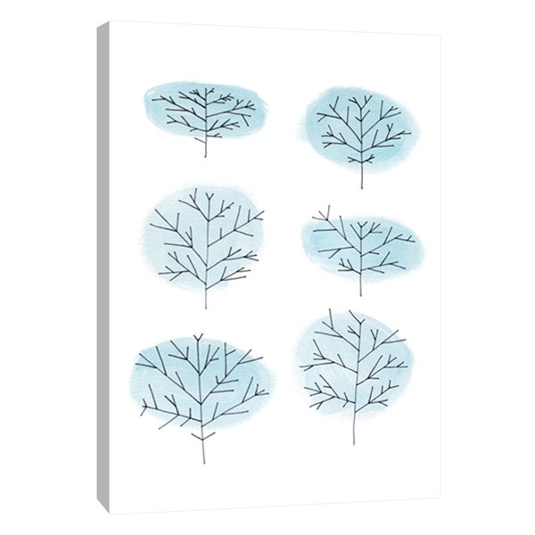 "PTM Images 9-108691 PTM Canvas Collection 10"" x 8"" - ""Stockings 2"" Giclee Trees Art Print on Canvas"