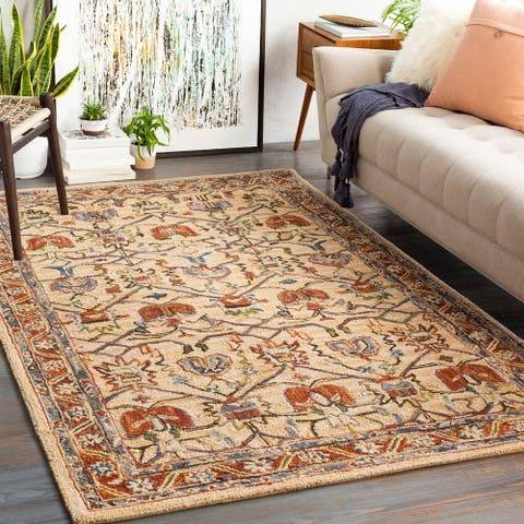 The Curated Nomad Stoney Handmade Wool Craftsman Area Rug
