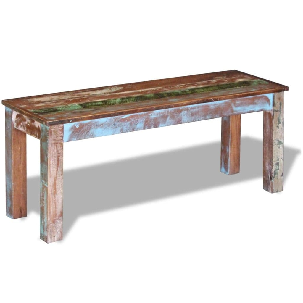 Prime Vidaxl Solid Reclaimed Wood Bench Dining Seats Home Seat Furniture Hall Ibusinesslaw Wood Chair Design Ideas Ibusinesslaworg