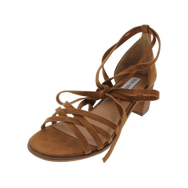 Steve Madden Womens Revere Dress Sandals Open Toe Stacked - 10 medium (b,m)