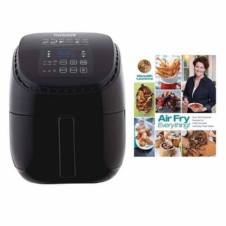 Nuwave 3 qt Brio Air Fryer w/ Air Fry Everything Cookbook