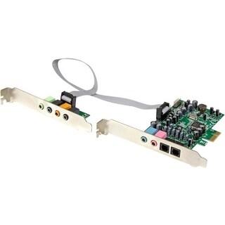 """""""StarTech PEXSOUND7CH StarTech.com 7.1 Channel Sound Card - PCI Express - 24-bit - 192KHz - 7.1 Sound Channels - Internal -"""