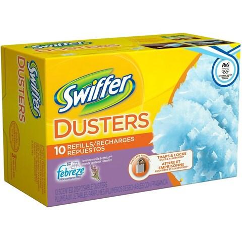 Swiffer Dusters Refills Lavender Vanilla & Comfort 10 ea