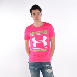 Under Armour Men'S T-Shirt In Pink