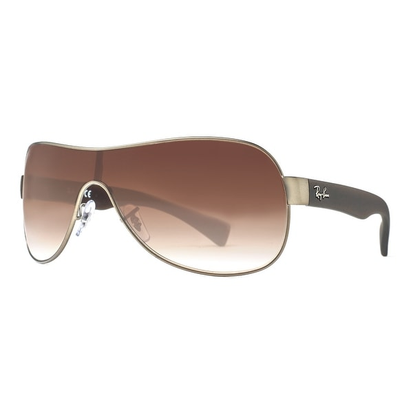 795dccbd9fa4 ... wrap sunglasses 2442968 6c131 a0973  wholesale ray ban rb 3471 029 13  gunmetal brown gradient menx27s shield 3ec84 028c6