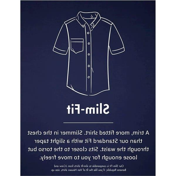 Goodthreads Standard-fit Short-Sleeve Solid Oxford Shirt W//Pocket