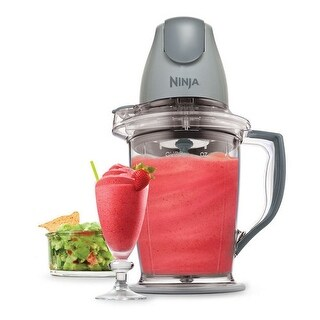 Ninja QB900 Master Prep 48 oz. Blender, Silver (Certified Refurbished) - Gray