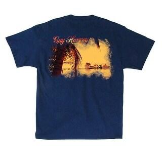 Guy Harvey Mens Road Trip Short Sleeve Shirt