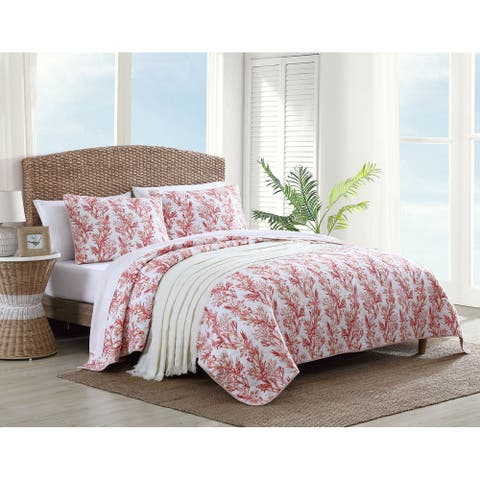 Tommy Bahama Sunset Reef Cotton Quilt Set