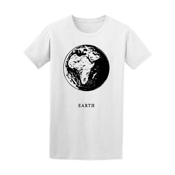Shop Planet Earth Tee Men S Image By Shutterstock Free Shipping