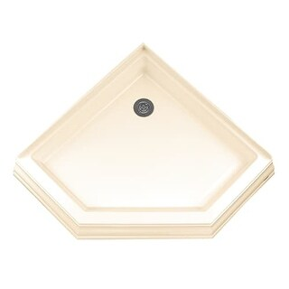 "American Standard 3838.NEOTS Town Square 38"" X 38"" Reinforced Acrylic Shower Pan - Triple threshold, Rear Drain"