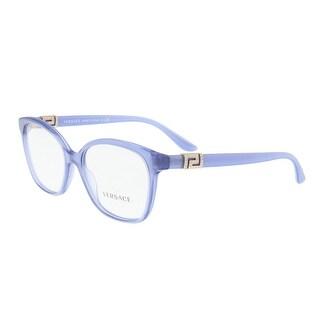 Versace VE3235B 5225 Transparent Blue Square Optical Frames - 52-16-140