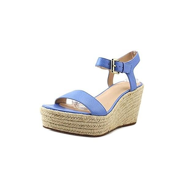 Kate Spade Womens Tarin Platform Sandals Leather Open Toe