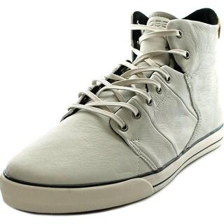 Globe Los Angered Men Round Toe Leather White Skate Shoe