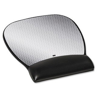 3M MW310LE 3M Gel Mouse Pad - 8.8 Inch x 9.8 Inch Dimension - Black