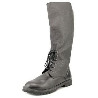 Funtasma by Pleaser Gotham Women Round Toe Synthetic Black Knee High Boot