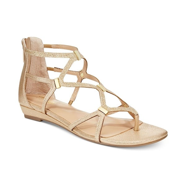 Thalia Sodi Womens pamella Split Toe Casual Strappy Sandals