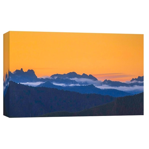 """PTM Images 9-102134 PTM Canvas Collection 8"""" x 10"""" - """"Natural Contrast"""" Giclee Forests and Mountains Art Print on Canvas"""