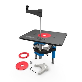 Kreg Precision Router Lift (PRS5000) for Table-Mounted Routers - Black