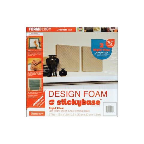 Dfbm12 fairfield foam design rigid 12x12x 5 2pc