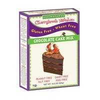 Cherrybrook Kitchen Chocolate Cake Mix - Gluten Free Wheat Free - Case of 6 - 16.4 oz