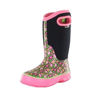 Bogs Boots Girls Kids Classic Sweet Pea Waterproof Insulated 71438A - 7 toddler