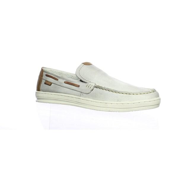 GBX Mens Otis Light Gray Loafers Size