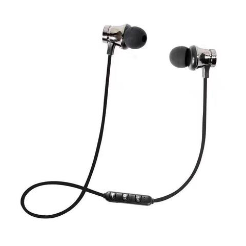 Wireless Sports Earbuds Stereo Bluetooth 4.1 In-ear Magnetic Earphones with Mic for Smartphone Tablet