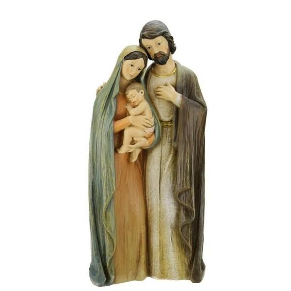 "19.25"" Religious Holy Family Christmas Nativity Figure - multi"