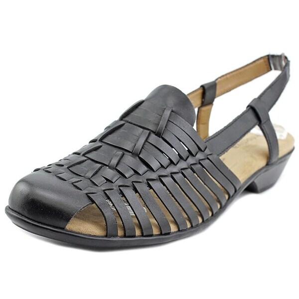 Comfortiva Regina Women Round Toe Leather Fisherman Sandal