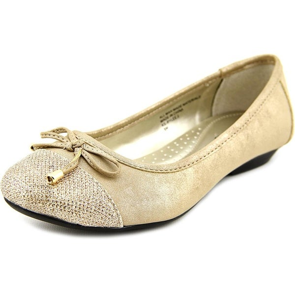 Karen Scott Rylee 2 Women Soft Gold Flats