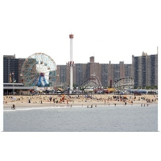 """Coney Island, New York"" Poster Print"